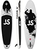 Kit Inicial Completo para Sup Tabla de Surf Hinchable con Fibra de Carbon Paddle 335 x 82 x 15cm Peso Máximo 150kg Set de Tabla Hinchable Surf
