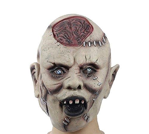 Global- cerveau Masques Burst drôle masque adulte horreur zombie horreur grimace masque d'Halloween performances de mascarade accessoires