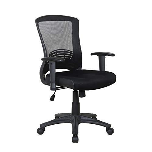X Rocker, 780001, Mesh Office Chair, 27.75 x 25 x 35.25, Black