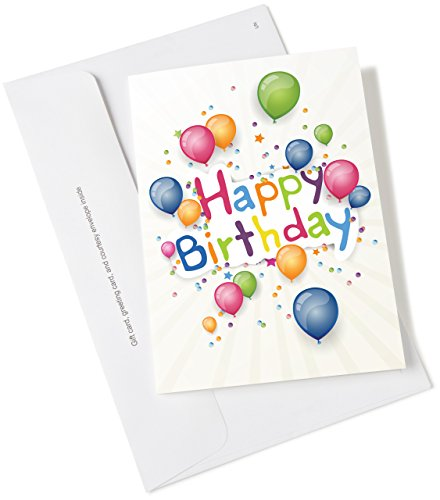 Amazon.ca Gift Card for Any Amount in Happy Birthday Balloons