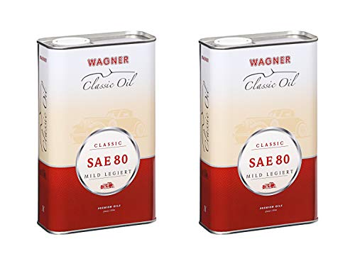 2X Wagner SPEZIALSCHMIERSTOFFE Classic Getriebeöl mild legiert Oldtimer SAE 80 1 L