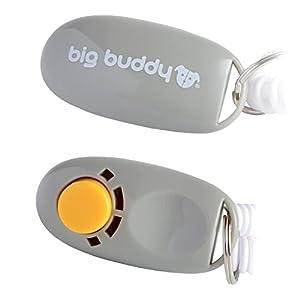 Big Buddy professionnel Clicker avec dragonne élastique Chien Clicker Training Clicker pour chien chat Cheval Dressage de chien