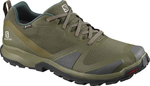 Salomon XA COLLIDER GTX, Zapatillas de Trail Running Hombre, Color: Verde (Olive Night/Phantom/Burnt Olive), 43 1/3 EU