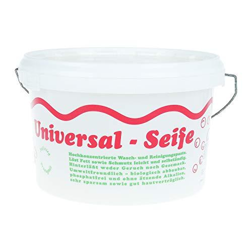 Aufstieg Qualität Universalseife 3,5 Liter Eimer Pastös | Neutralseife | Universalreiniger für Haushalt und mehr | Hochkonzentrierte Wasch- und Reinigungspaste | PH-neutral | Biologisch abbaubar