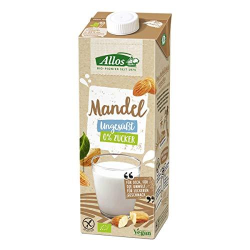 Allos - Mandel Drink naturell 0 % Zucker - 1 l - 6er Pack