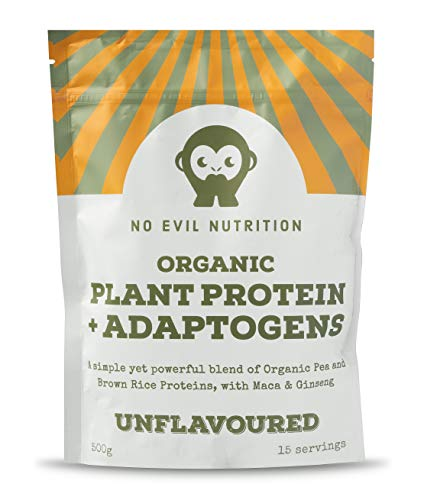 Organic Protein Powder + Adaptogens