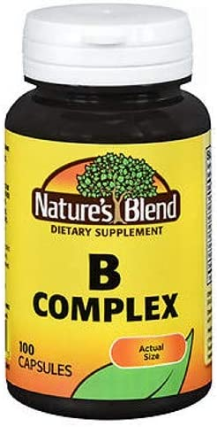 Nature's Blend B Complex Capsules - Pack 3 In a Super beauty product restock quality top! popularity ct of 100