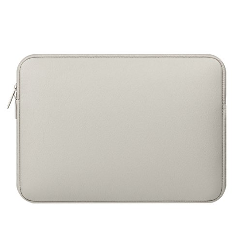Laptop/Notebook/Ultrabook/Netbook Tasche Sleeve Schutzhülle für MacBook Air/Pro/Retina Plüschfutter PU Leather Tablet Hülle Grau 11.6 Zoll