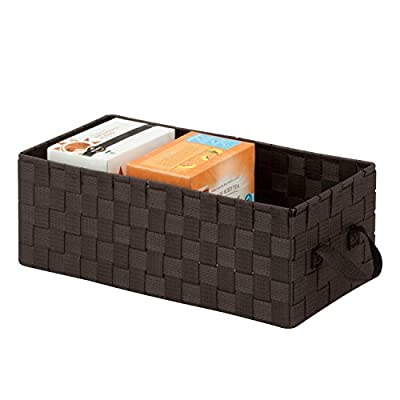 Honey-Can-Do OFC-03711 Three Section Woven Drawer Organizer