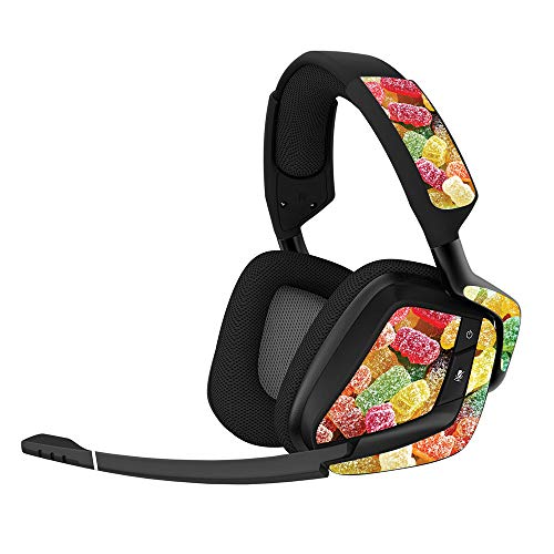MightySkins Skin Compatible With Corsair Void Pro Gaming Headset - Sour Candy | Protective, Durable,...