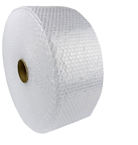 KADAX Luftpolsterfolie, Rolle, Blisterfolie für Umzug, Betrieb, Möbel, Noppenfolie zum verpacken, Polstermaterial, transparente Verpackungsfolie, Knallfolie, Verpackungsmaterial (100m x 30cm)