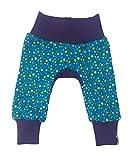 MyLeeni, Pumphose'Monkey Pants' bunte Punkte, Baby, Hose, Kinderhose, Gr. 50, grün, lila, Mädchen