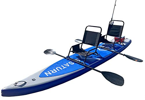 13.5' Inflatable Paddle Board / Kayak for 1-2 persons.