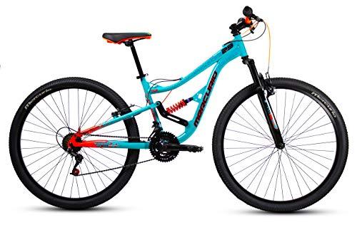 Mercurio Bicicleta Mercurio Ds Kaizer 29´´, Esmeralda/Negro/Naranja, Acero, 21 Velocidades, 2019, Unitall