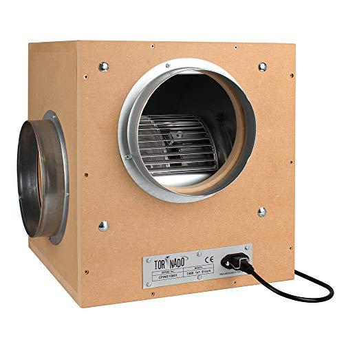 Tornado - Ventilador de caja (250 mm, 3250 m3/h, 2,5 x 25,4 cm) S/T
