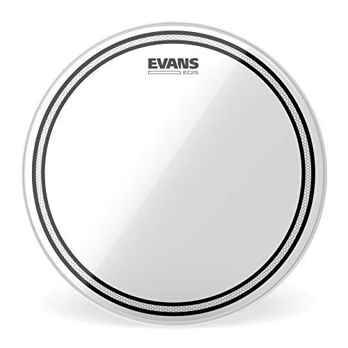 Evans TT13EC2S Pelle EC2 per Grancassa, 13', Trasparente