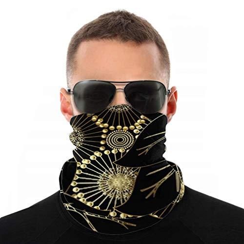 Headbands For Men Women Neck Gaiter, Face Mask, Headband, Scarf Modern Otnate Floral Vector 3d Seamless Turban Multi Scarf Double Sided Print Turban Headband For Sport Outdoor