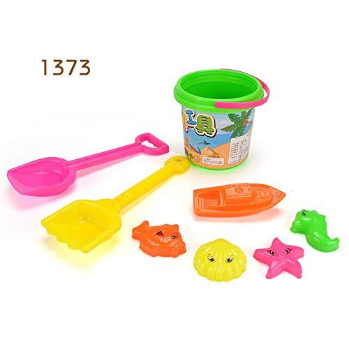 pinshun Set para niños Juguetes de Playa Juguetes de Playa Juguetes para bebés y niños niños Pala Barril @ 1373 Juguetes de Arena para la Playa