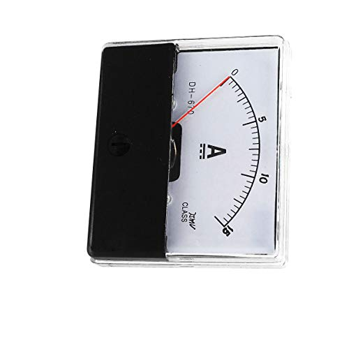 Aexit DC 0-15A Analoges Messgerät Amperemeter Amperemeter DH-670 (dcadd552465605c53c005d15fe8087d3)