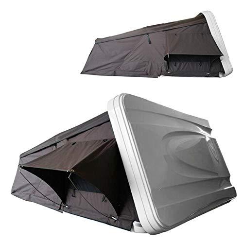 DUTUI Hartschalen-Autodachzelt, Outdoor-Ausrüstung Für Camping-Selbstfahrer-Tour, Camping-Off-Ground-Zelt, Vollautomatisches Autodachzelt