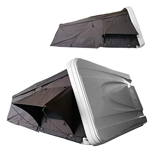 DUTUI Hard Shell Car Roof Tent, Outdoor Equipment for Camping Self-Driving Tour, Camping Off-Ground Tent, Fully Automatic Car Roof Tent