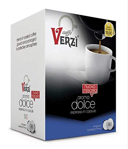 CAFFÈ VERZI | Compatibilità: LAVAZZA FIRMA® | Aroma: DOLCE | (80)…