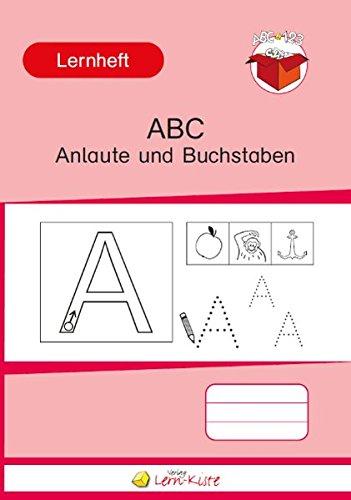 ABC Anlaute und Buchstaben: Lernheft