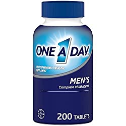 One A Day Men's Multivitamin, Supplement with Vitamins A, C, E, B1, B2, B6, B12, Calcium and Vitamin