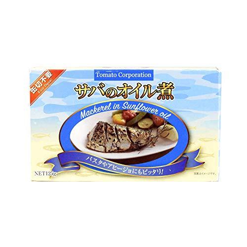 国華園 サバのオイル煮 6個 缶詰