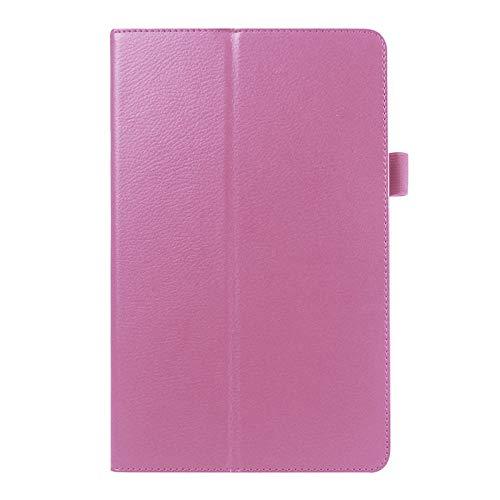 Funda Plegable Folio Funda de Cuero PU para Samsung Galaxy Tab a 6 A6 7.0 2016 T280 SM-T280 T280N T285 T281 Tablet Stand Cover-Rosa