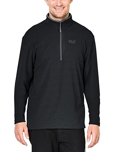 Jack Wolfskin Arco Pull à Rayures pour Homme Bleu S Rayures Noires