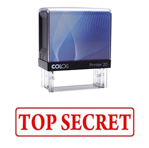 TOP SECRET Selbstfärber Stempel Individuelle Colop Büro Stationär P20 Mini Stamper