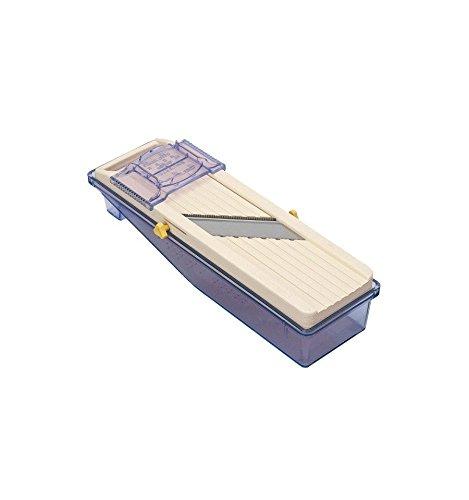 Bron coucke 8490japp – Mandolina japonesa 11 x 31 cm + bandeja recuperadora