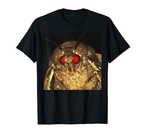Original Moth Meme Shirt, Red Eyes, Funny, Gift
