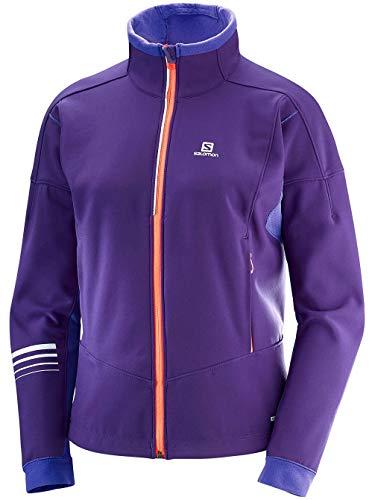 Salomon Warme Softshell-Jacke für Damen, Größe L