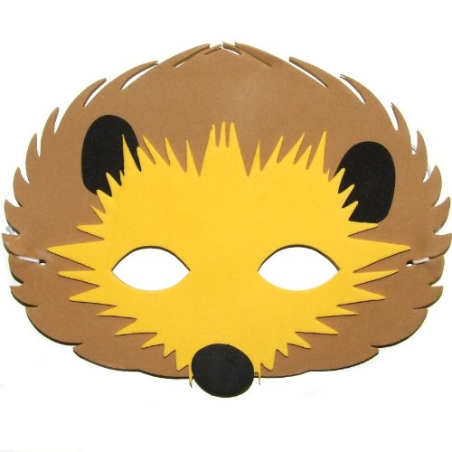 Cute Hedgehog Schaumstoff Face Maske – für Fancy Kleid & Masquerade