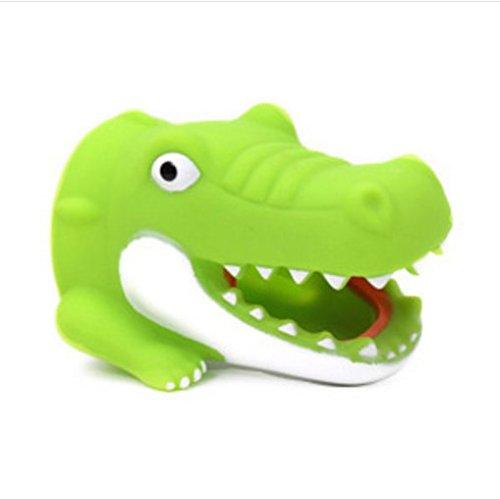 ARMAC Crocodile - Dispositivo de lavado de manos para grifo alargador fregadero grifo grifo alargador verde