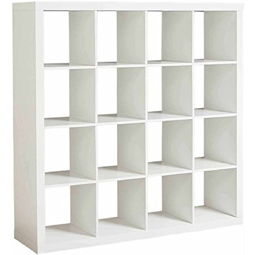 Better Homes and Gardens Versatile 16-Cube Organizer (White)