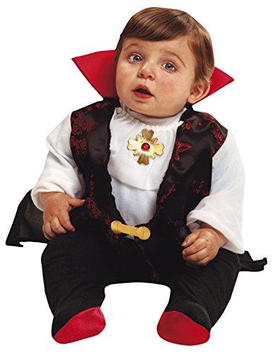 My Other Me Me-203270 Disfraz de bebé Drácula para niño, 1-2 años (Viving Costumes 203270)