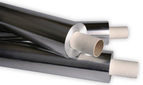 Industriefolie aus Aluminium - Alufolie 50cm x 100m, Dicke 50my