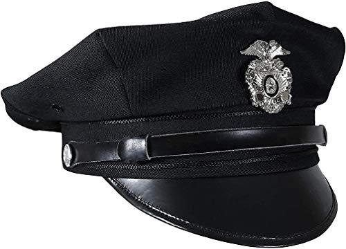 CASQUETTE US NOIR DE LA POLICE AMERICAINE DES ETATS UNIS MILTEC 12421100 TAILLE M