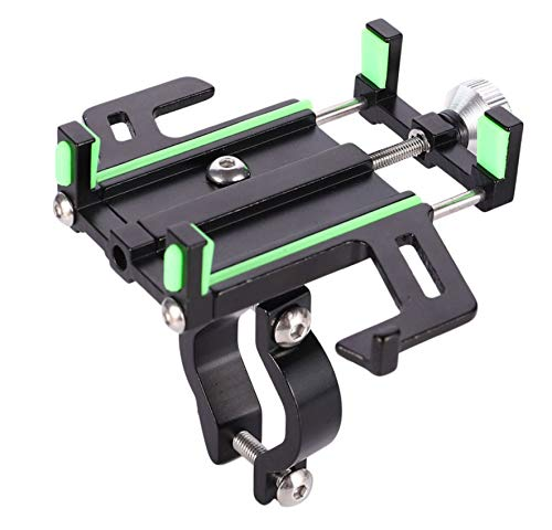 Soporte para teléfono móvil de Bicicleta de aleación de Aluminio, Soporte móvil de rotación Universal de 360 Grados, para teléfono Celular GPS