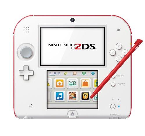 Nintendo 2DS - Consola, Color Blanco Y Rojo