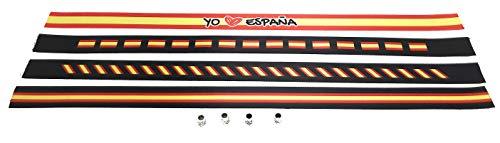 Tarja 73 - Cinta de Tela con la Bandera de España - Bandera Española - Pack de...