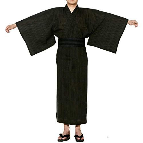 LIZANAN Jinbei Herren japanische Yukata Kimono Startseite Robe Pyjamas Morgenmantel...