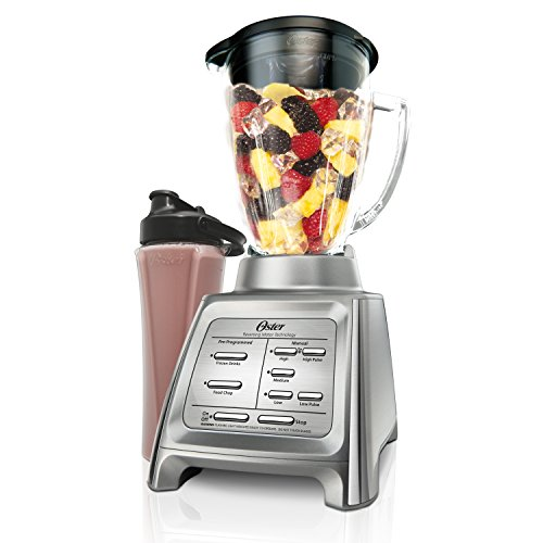 Oster Designed for Life General Blender, 13.9 x 10.2 x 8.9 inches, Silver