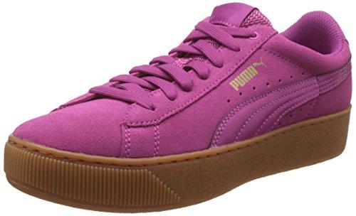 PUMA Damen Vikky Platform 363287-04 Sneakers, Pink (Rose Violet-Rose Violet 04), 39 EU