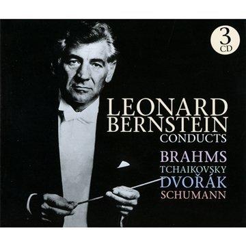 Conducts Brahms, Tchaikovsky,