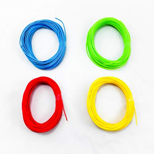 Recreus FFAX Sample Pack 2 Flexible Filaments for 3D Printer, 1.75 mm, Set of 2