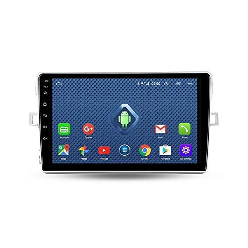 Autoradio Bluetooth, 2 Din Android Radio De Coche 9'' Pantalla Táctil Wifi Plug And Play Completo RCA SWC Soporte Carautoplay/GPS/DAB+/OBDII Para Toyota Verso R20 2009-2018,Quad core,4G Wifi 2G+32G